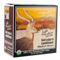Light Mountain Natural Color & Conditioner Medium Brown
