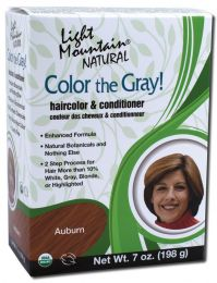 Light Mountain Natural Color the Gray Auburn (Koper)